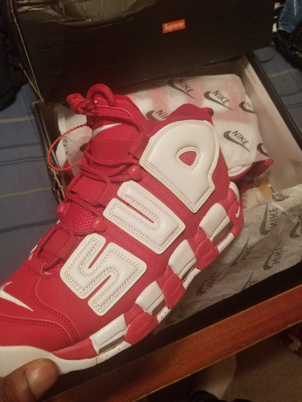 b013a5b6d1f Size 13 Men Nike Uptempo Supreme for Sale in Mount Laurel