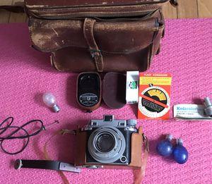Accessories & for Parts Kodak Medalist 2 Camera, Medium Format, Ektar 100mm f/3.5 Set For Parts for Sale in Olney, MD