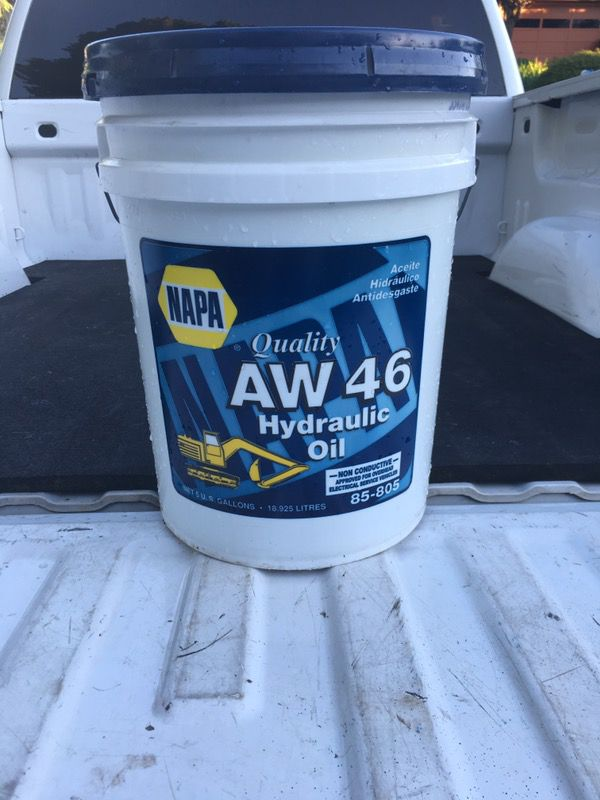 Hydraulic Oil AW 46 for Sale in Gresham, OR - OfferUp