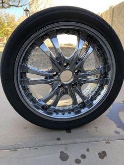 Chrome Rims and tires Thumbnail