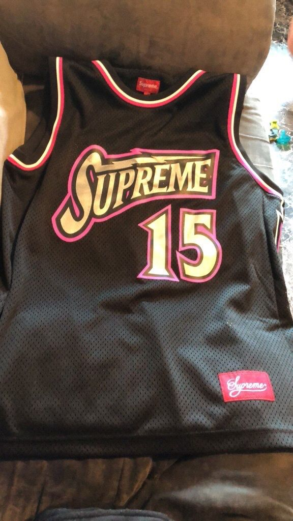 a0bbca94463d Supreme Bolt Basketball Jersey for Sale in Brooklyn, NY - OfferUp