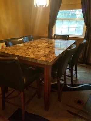 Dining room table with six chairs for Sale in Fort Belvoir, VA