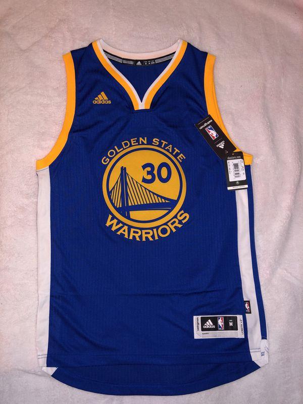 b906de49205 Adidas Men's Golden State Warriors Stephen Curry Swingman Jersey ...