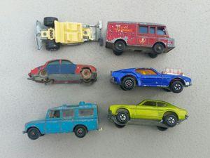 Photo Vintage Matchbox TLC cars what parts restoration