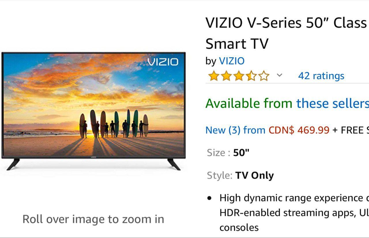 """Vizio smart tv 50"""""""
