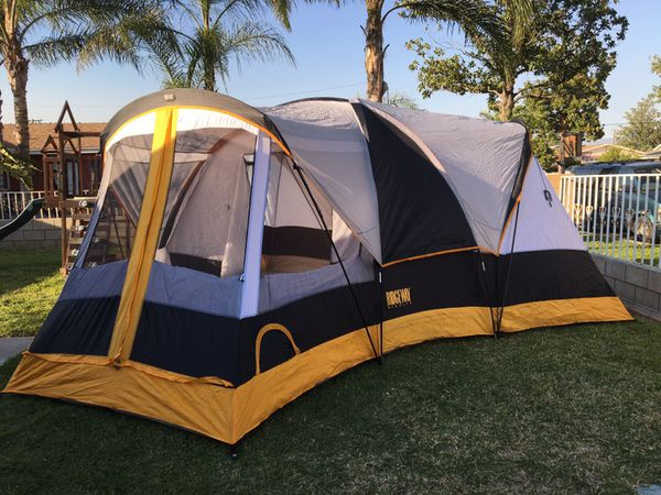 ridgeline 4 room family dome camping tent sports outdoors in