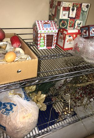 A lot of Christmas items for sale take one item or take all for Sale in Fairfax Station, VA