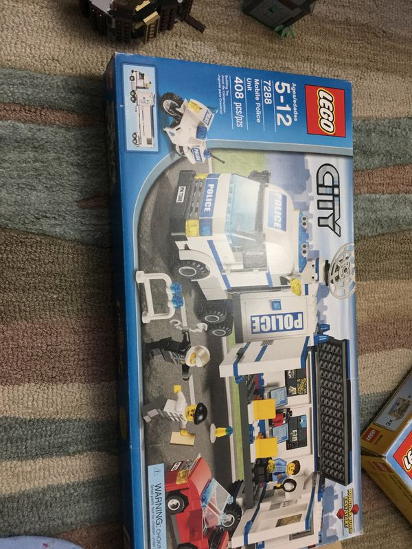 Lego City Number 7288 Mobile Police Unit For Ages 5 12 408