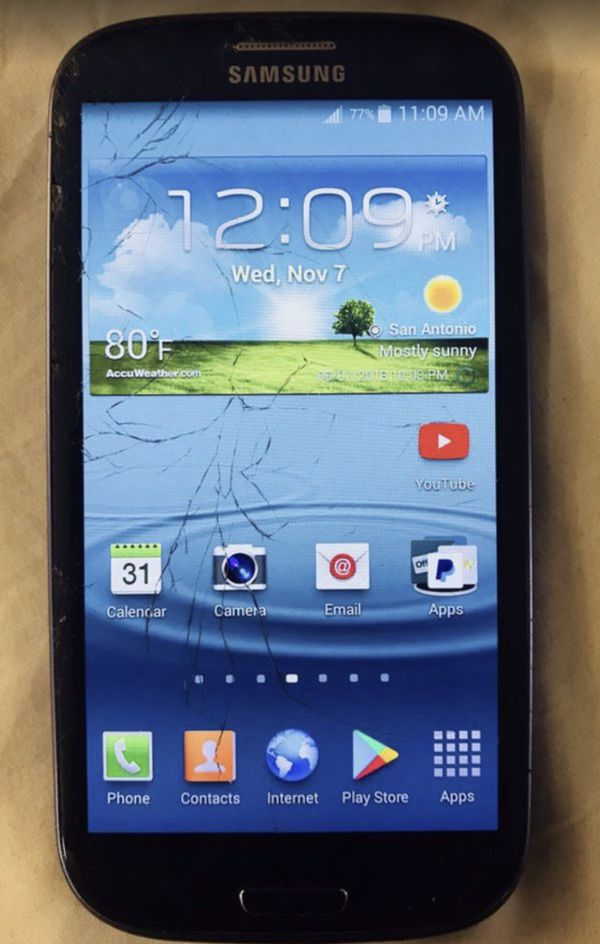 Samsung Galaxy S3 - Sprint - Clean IMEI - Blue for Sale in Cibolo, TX -  OfferUp