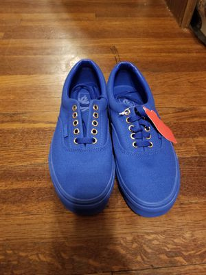 8790ecc2bacc Royal Blue Vans Kids 6.5y or Women s size 8 for Sale in Charlotte