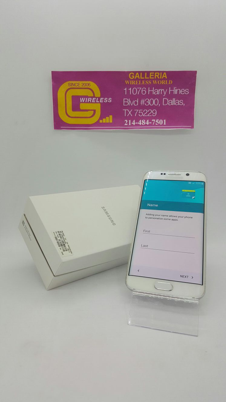 Samsung Galaxy S6 Edge 32 GB On Sale/ Clean Imei/ Unlocked