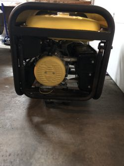 Champion Heavy Duty Generator 7000 Watt Thumbnail
