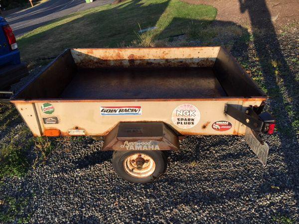 Coleman Versa Trailer Utility Dump Trailer for Sale in ...