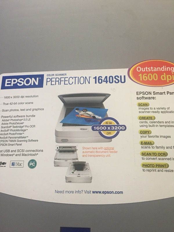 Epson scanner for Sale in Allentown, PA - OfferUp