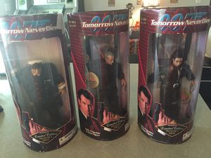 James Bond limited edition collector action figure dolls for Sale in Lake Mary, FL