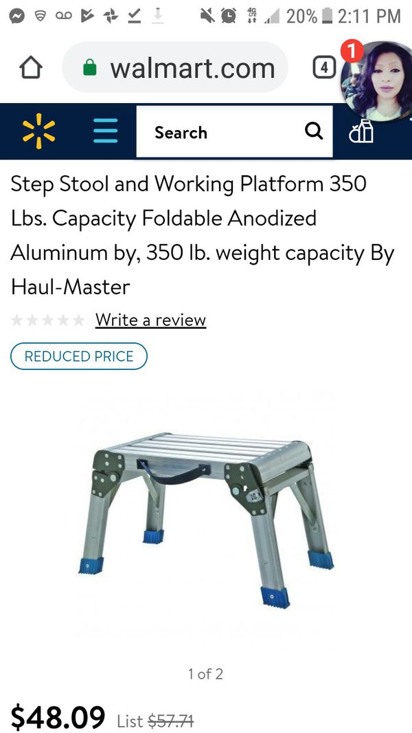 Peachy Haul Master Step Stool 350 Wt Capacity For Sale In Tulsa Ok Offerup Ocoug Best Dining Table And Chair Ideas Images Ocougorg