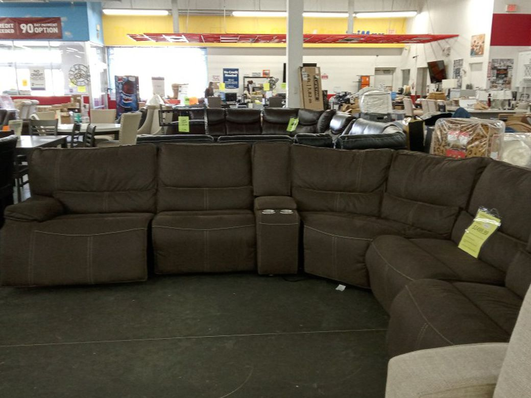 Powered Reclining Sectional