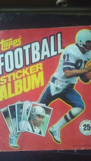 Topps vintage sticker alubum for Sale in Kissimmee, FL