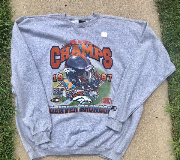 Denver Broncos 1997 AFC Champs Sweatshirt for Sale in Denver 43c6b57f8