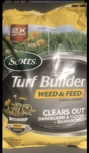 Photo Scotts Turf Builder Weed and Feed 14.29-lb 5000-sq ft 28-0-3 Lawn Food