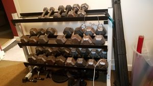 Weights various 20-50lbs for Sale in Annandale, VA