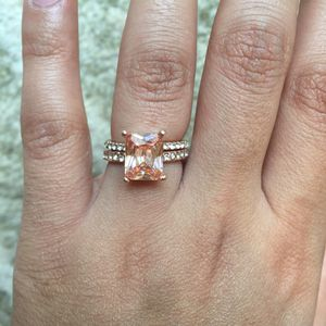 Rose gold plated ring and band size 6 for Sale in Silver Spring, MD