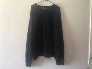 URBAN OUTFITTERS DISTRESSED BLACK SWEATER for Sale in Fontana, CA