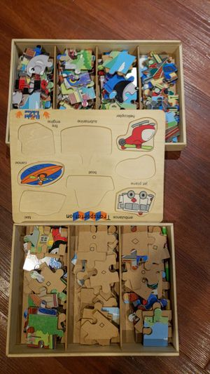 Kids puzzle games for Sale in Abingdon, MD