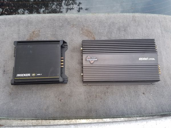 Kicker 2ch and 4ch amps for Sale in Macon, GA - OfferUp