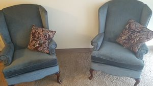 Two love seat chairs 60 obo for Sale in Detroit, MI