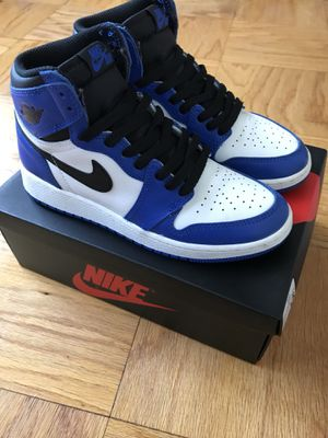 """AIR JORDAN 1 RETRO """"GAME ROYAL"""" SIZE 5 for Sale in Silver Spring, MD"""