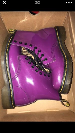 Purple dr martens for Sale in Bethesda, MD