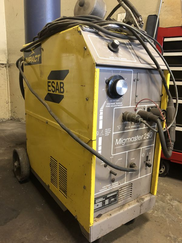 ESAB MigMaster 250 Aluminum Welder For Sale In Puyallup WA OfferUp