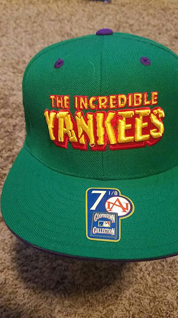 c37adb4c970ca New York Yankees Incredible Hulk themed hat 7 1 8..new with tags for ...