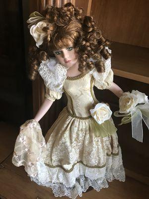 Beautiful porcelain doll for Sale in El Cajon, CA