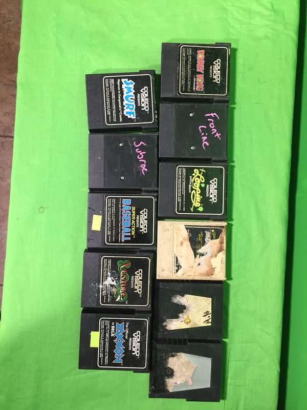 Colecovision game cartridges all working condition some missing or ripped  labels for Sale in Phoenix, AZ - OfferUp