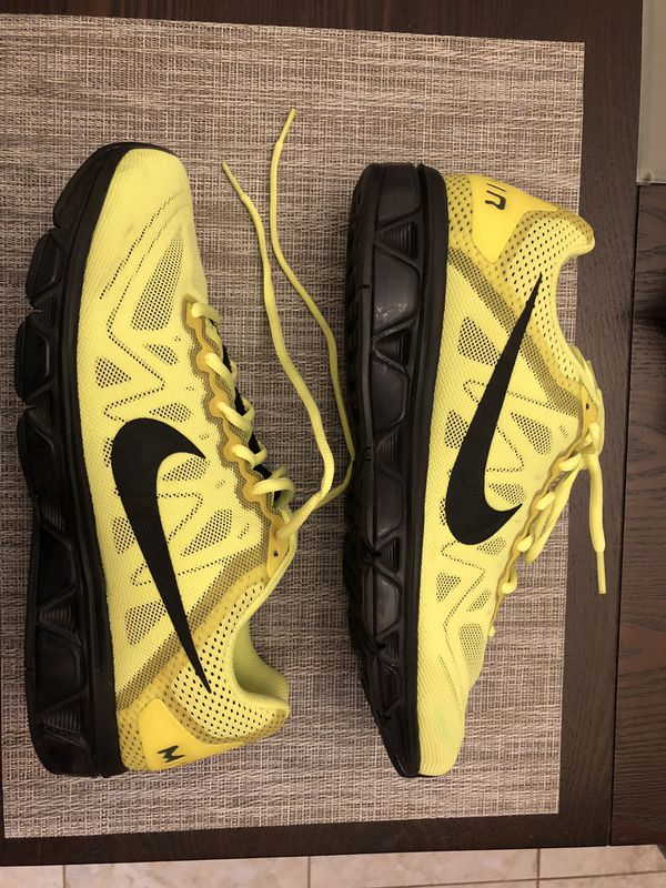get cheap eccdb 4b452 Men s Nike Air Max Tailwind 7 Volt Black Anthracite 683632-700 Size 12 Used