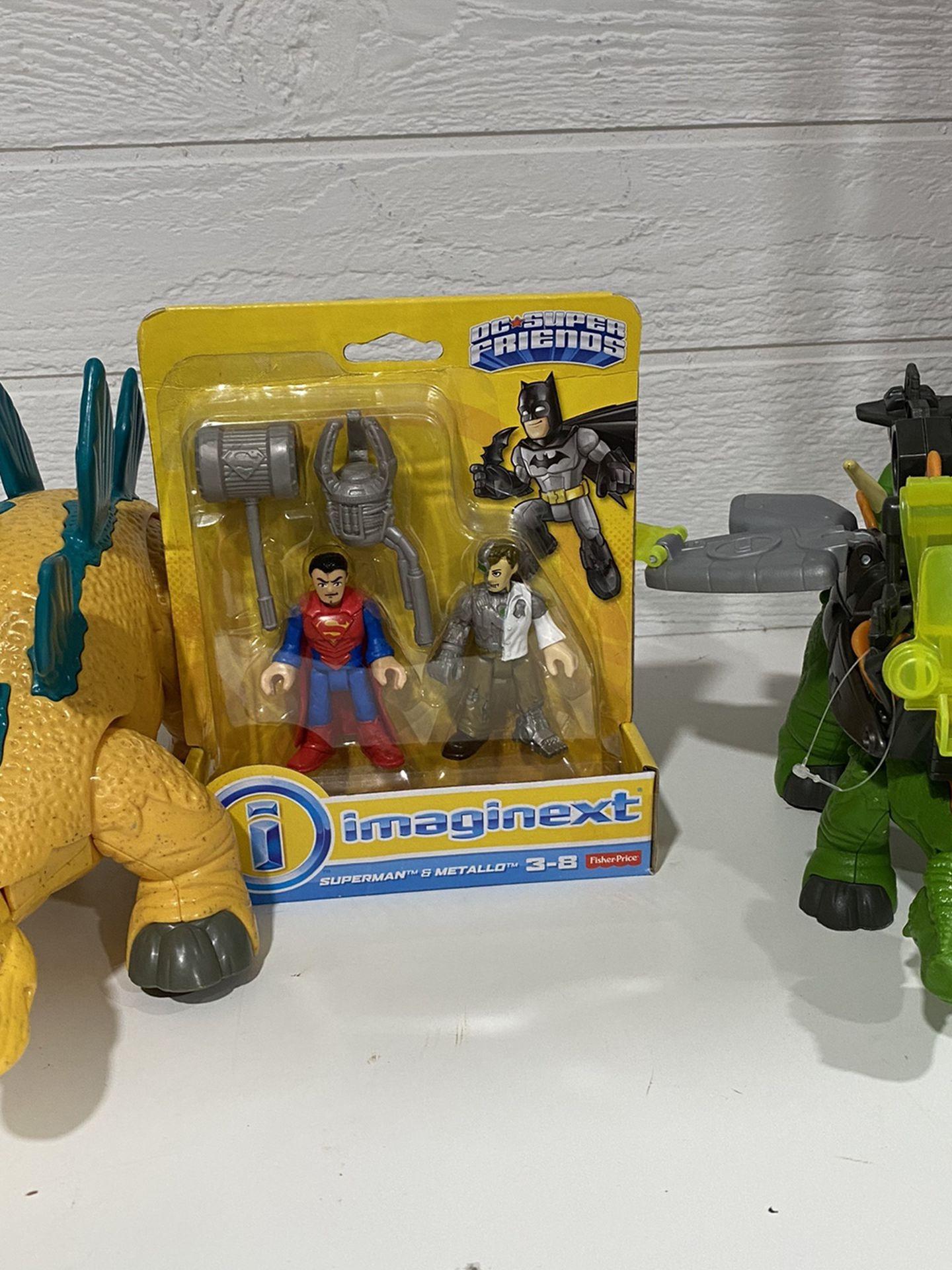Imaginext Dinosaurs Set$25