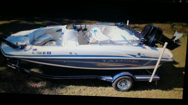 20' Tahoe Deck Boat w/ 150 HP Mercury motor and trailer  for Sale in  Orlando, FL - OfferUp