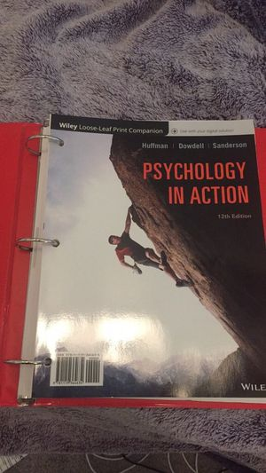 Psychology in Action 12th edition for Sale in Lincolnia, VA