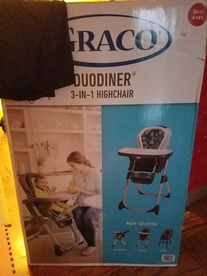 New Graco 3 in 1 high chair for Sale in Washington, DC