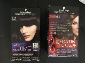 2 shearzakoff hair color for Sale in Washington, DC