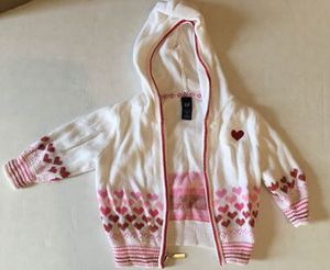 Photo Baby 3-6M month Heart Sweater- Like New (Baby Gap)