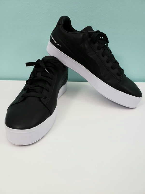 77332564360 PUMA x Black Scale Court 365918-01 Blvck Scvle Leather Sneakers Shoes Men s  11.5 for Sale in Miami