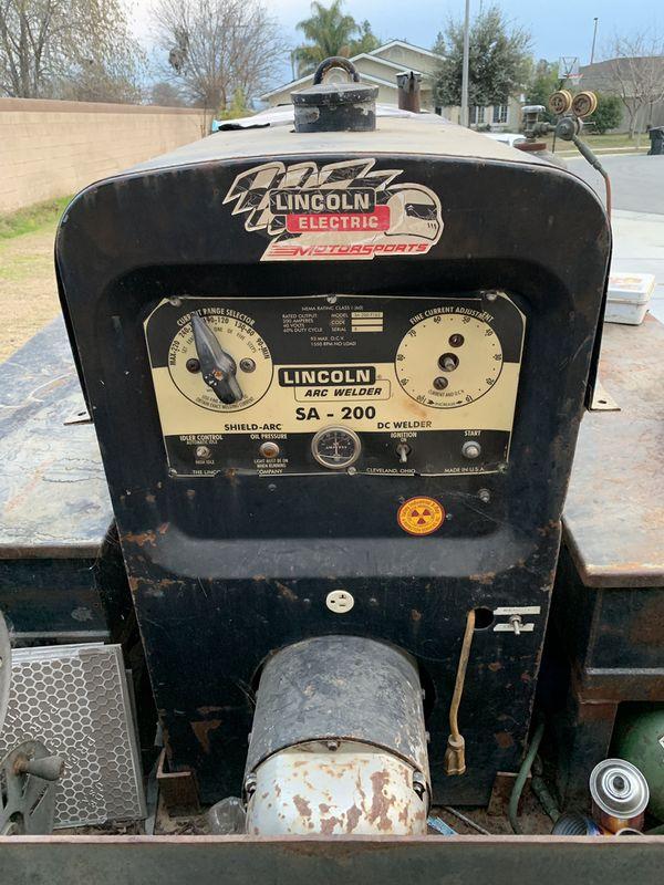 Lincoln SA 200 welder for Sale in Wasco, CA - OfferUp
