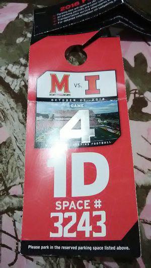 2018 Football Parking for Sale in Hyattsville, MD