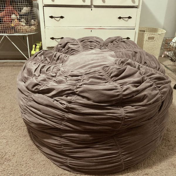 Outstanding Restoration Hardware Oversized Bean Bag Chair For Sale In Caraccident5 Cool Chair Designs And Ideas Caraccident5Info