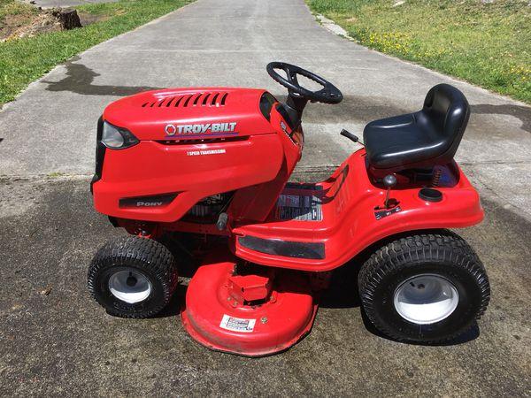 "Troy-Bilt 7-Speed Pony 13AN77KG 42"" Riding Mower for Sale in Johnson City,  TN - OfferUp"