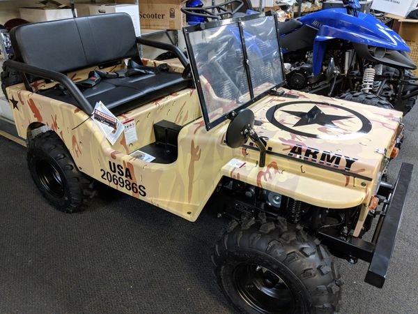 125cc Mini Jeep Willys Replica Go Kart For Sale In Roswell Ga