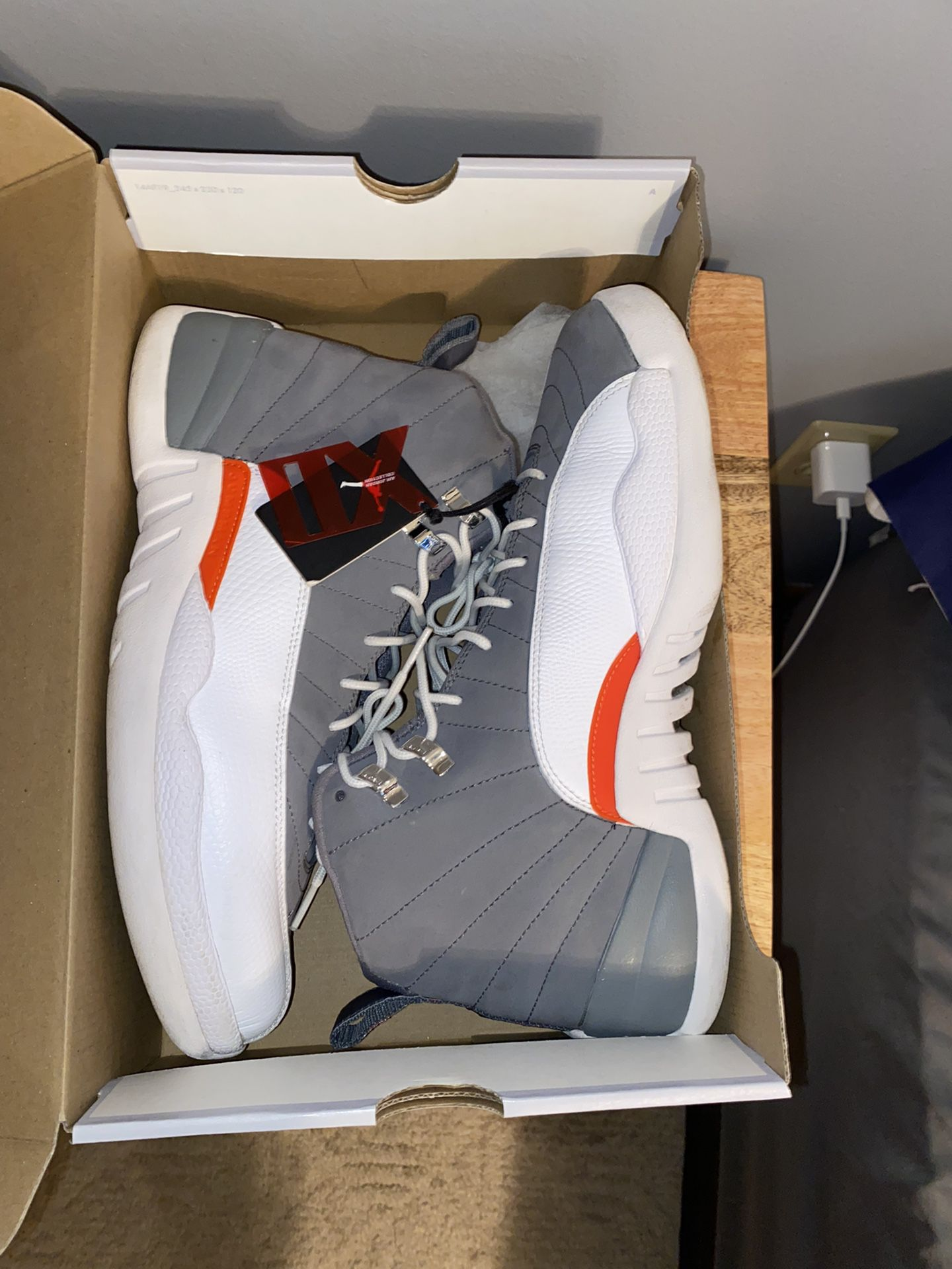Cool Grey 12s size 11